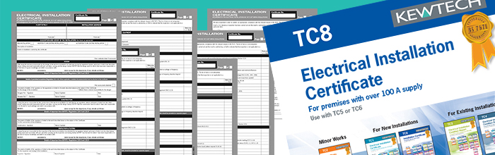 Electrical Minor Works Certificate Template